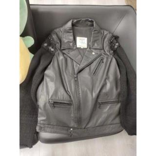 UNDERCOVER - サイズ2 UNDERCOVER ブラック レザージャケット