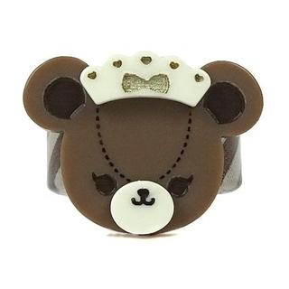 アンジェリックプリティー(Angelic Pretty)の【新品】Bear's Chocolaterieカフェリング(ブラウン)(リング(指輪))
