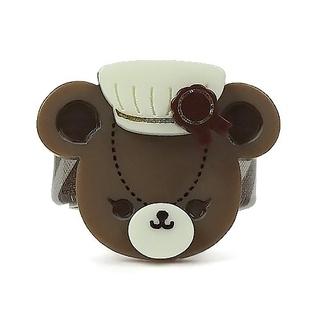 アンジェリックプリティー(Angelic Pretty)の【新品】Bear's Chocolaterieショコラティエリング(ブラウン)(リング(指輪))
