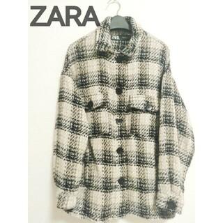 ZARA - 送料込み!ZARA今季オーバーサイズチェックシャツジャケット