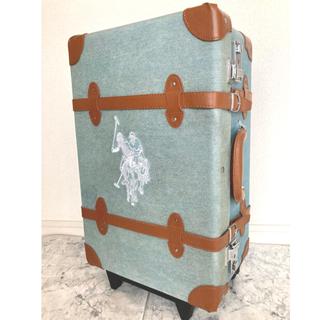 ポロラルフローレン(POLO RALPH LAUREN)のU.S.POLO ASSN. デニム地風 スーツケース(スーツケース/キャリーバッグ)