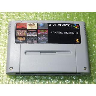 スーパーファミコン - 【SFC】100in1 スーパーファミコンカセット