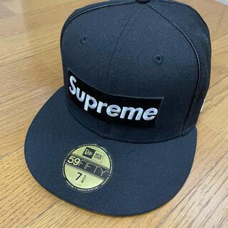 シュプリーム(Supreme)のsupreme  piping box logo new era cap(キャップ)