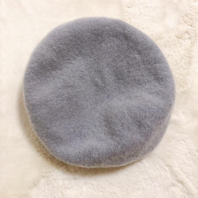 GU(ジーユー)のグレー ベレー帽 レディースの帽子(ハンチング/ベレー帽)の商品写真