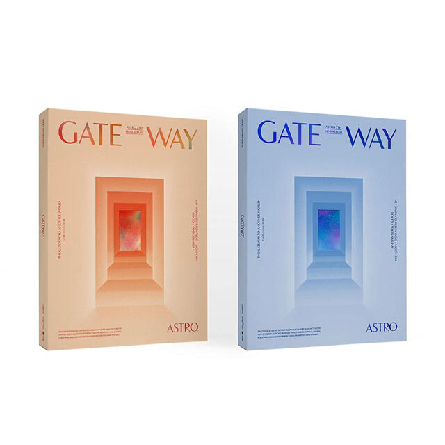 ASTRO GATEWAY 2ver. セット 新品未開封 エンタメ/ホビーのCD(K-POP/アジア)の商品写真