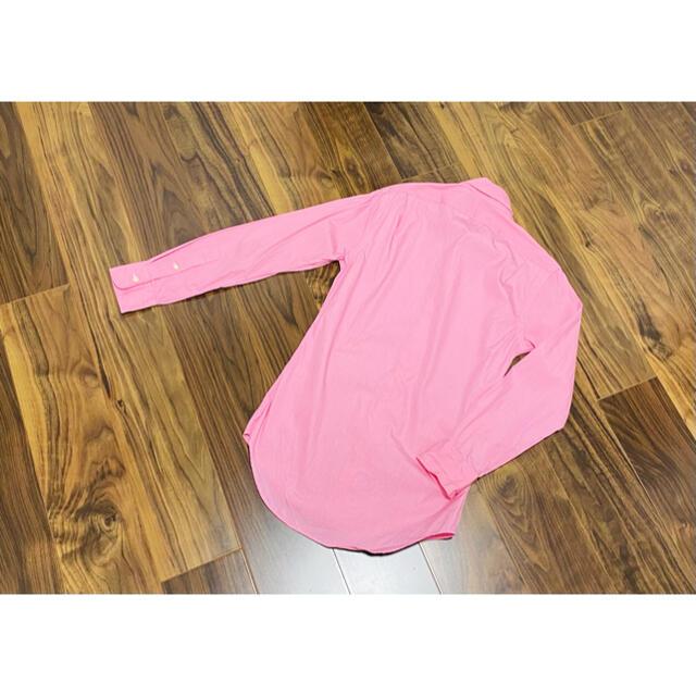 POLO RALPH LAUREN(ポロラルフローレン)のラルフローレン ラルフ ドレスシャツ Yシャツ スリムフィット メンズ ピンク メンズのトップス(シャツ)の商品写真