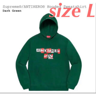 シュプリーム(Supreme)の【 L】Supreme®/ANTIHERO® Hooded Sweatshirt(パーカー)