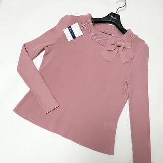 M'S GRACY - エムズグレイシー♡リボンニット♡ピンク♡40
