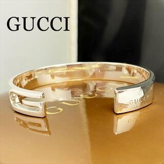 Gucci - 新品仕上 GUCCI グッチ ブレスレット Gロゴ バングル シルバー 925