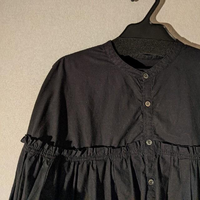 chambre de charme(シャンブルドゥシャーム)のユニバーサルティシュ ギャザーブラウス レディースのトップス(シャツ/ブラウス(長袖/七分))の商品写真