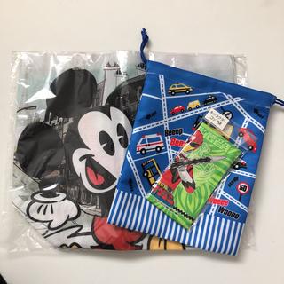 ディズニー(Disney)の【新品未使用】Disney トートバック 通園 通学(通園バッグ)