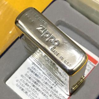 ジッポー(ZIPPO)のZIPPO 超希少 限定500個 純銀 STERLING アメリカンイーグル(タバコグッズ)
