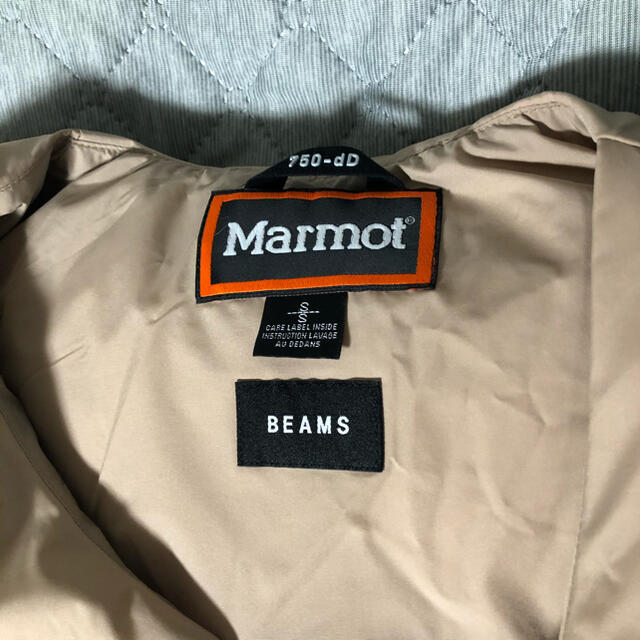 MARMOT(マーモット)のmarmot beams down vest メンズのジャケット/アウター(ダウンベスト)の商品写真