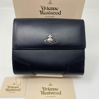 Vivienne Westwood - 未使用☺︎Vivienne Westwood 二つ折り財布 ブラック オーブ