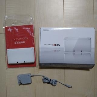 ニンテンドー3DS - 3ds 本体 アイスホワイト 白
