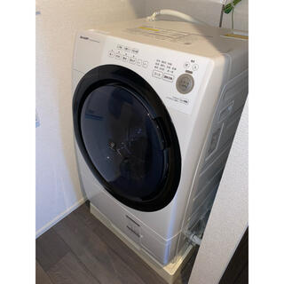 SHARP - 【送料無料】SHARP ES-S7Eドラム式洗濯乾燥機 (2020年)