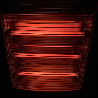 ヤマゼン(山善)の最終値下げ 遠赤外線電気ストーブ加湿機能付3段切替式 DSE-KC104(電気ヒーター)