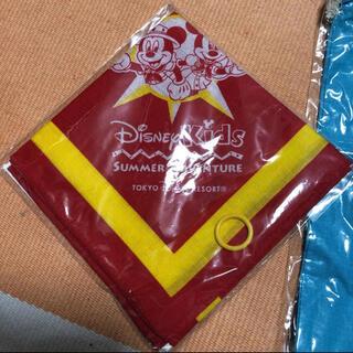 ディズニー(Disney)の【ディズニー】バンダナ ミッキー 非売品(バンダナ/スカーフ)