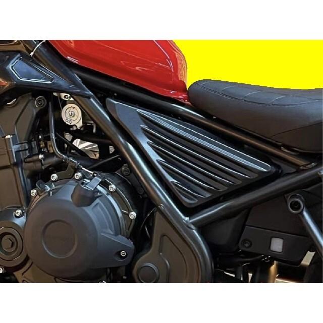 ホンダ(ホンダ)のレブル250 rebel250 サイドカバー 新品未使用 値下げ 自動車/バイクのバイク(パーツ)の商品写真