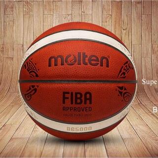 モルテン(molten)のmolten高品質FIBAバスケットボールボールWC公式7号ネットバッグ + 針(バスケットボール)