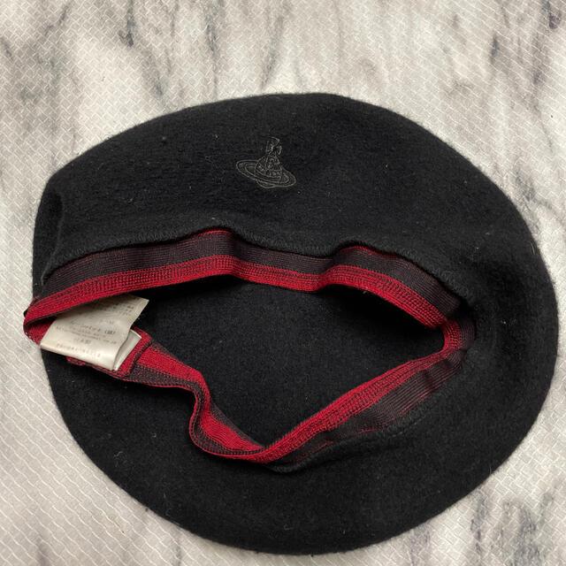 Vivienne Westwood(ヴィヴィアンウエストウッド)のビビアンウェストウッド ベレー帽 レディースの帽子(ハンチング/ベレー帽)の商品写真
