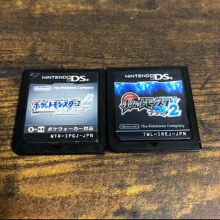 ニンテンドーDS(ニンテンドーDS)のポケモン ソウルシルバー ブラック2(携帯用ゲームソフト)
