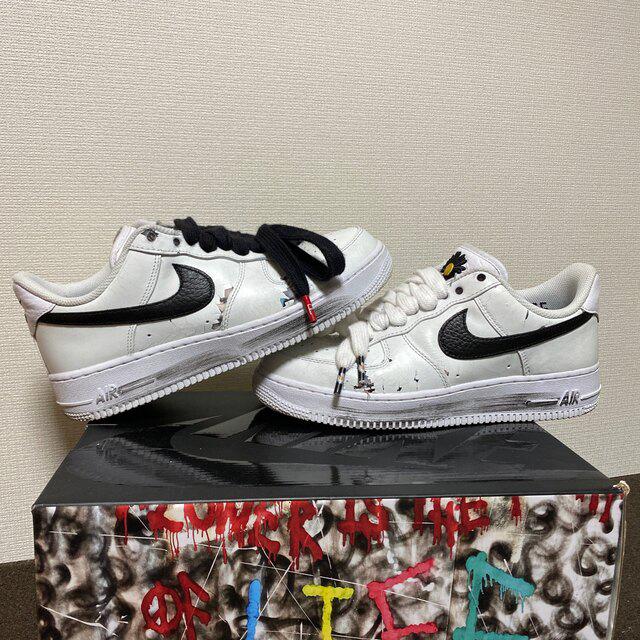 PEACEMINUSONE(ピースマイナスワン)のパラノイズ 白 25.5 メンズの靴/シューズ(スニーカー)の商品写真