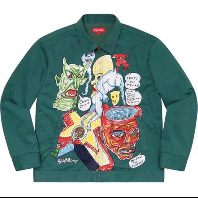Supreme(シュプリーム)のsupreme シュプリーム×ダニエルジョンストン Work Jacket メンズのジャケット/アウター(その他)の商品写真