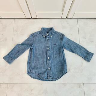 Ralph Lauren - ラルフローレン  デニムシャツ サイズ100