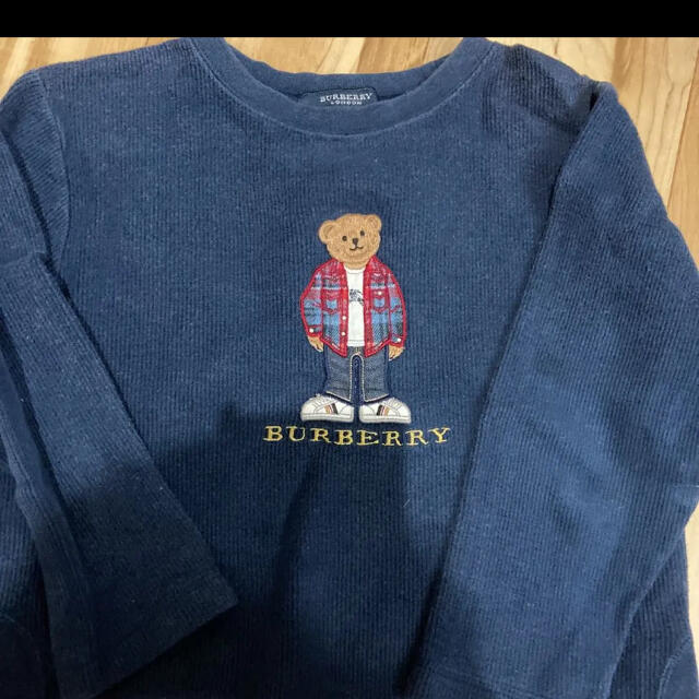 BURBERRY(バーバリー)のバーバリーロンT110 キッズ/ベビー/マタニティのキッズ服男の子用(90cm~)(Tシャツ/カットソー)の商品写真