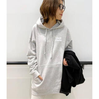 L'Appartement DEUXIEME CLASSE - アパルトモン 【UNCLE PAULIE'S】HOODED SWATSHIRT