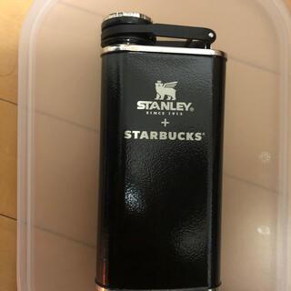 スタンレー(Stanley)の限定品 STARBUCS+STANLEYコラボ スキットル 黒(食器)