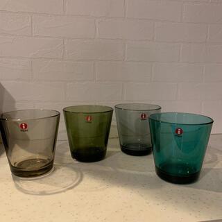 イッタラ(iittala)のイッタラ カルティオ グラス 4点❣️(グラス/カップ)