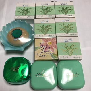 ペリカン(Pelikan)の新品♡ペリカン石鹸 メナード マダム エイゼル アロエ せっけん ソープ11個(ボディソープ/石鹸)