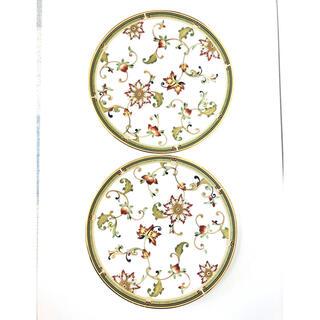 ウェッジウッド(WEDGWOOD)のウエッジウッド オベロン 花柄プレート 21cm 2枚セット(食器)