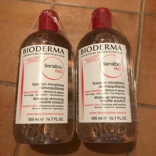 ビオデルマ(BIODERMA)のビオデルマ 500ml 2本セット(クレンジング/メイク落とし)