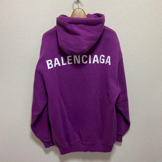 Balenciaga - 国内正規品 バレンシアガ ロゴ オーバーサイズ フーディー パーカー