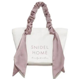 snidel - スナイデルホーム オーガニックキャンバスバッグ BIG