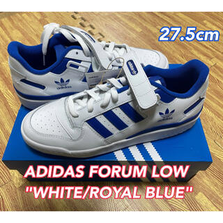 adidas - adidas FORUM LOW WHITE/ROYAL BLUE 27.5cm