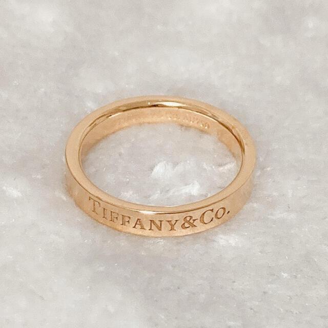 Tiffany & Co.(ティファニー)の【さらにお値下げ中】♡ティファニーリング 18k♡ レディースのアクセサリー(リング(指輪))の商品写真