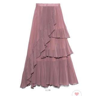 snidel - snidel シアーボリュームプリーツスカート
