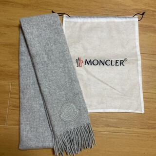 MONCLER - モンクレール  ロゴマフラー