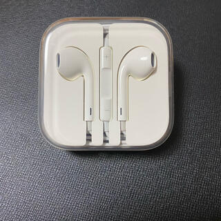 Apple - 新品未使用 アイフォン iphone 付属 純正 イヤホン