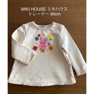 mikihouse - MIKI HOUSE ミキハウス トレーナー チュニック 日本製 90cm
