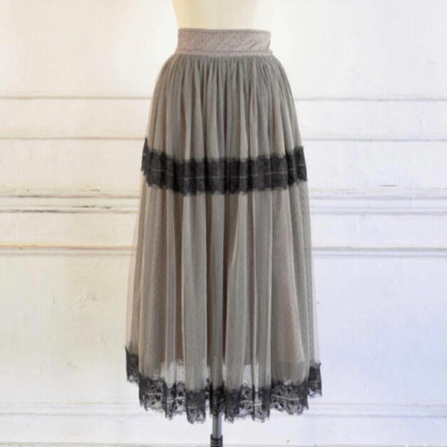 snidel(スナイデル)のher lip to ♡ チュールスカート レディースのスカート(ロングスカート)の商品写真