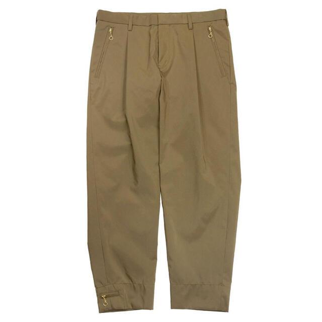 kolor(カラー)のkolor 金ジップテーパードパンツ メンズのパンツ(その他)の商品写真