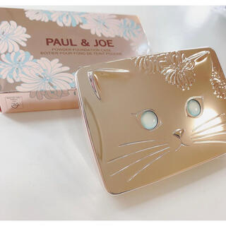 PAUL & JOE - 【新品】ポール & ジョー パウダー ファンデーション ケース