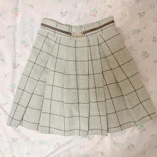 evelyn - eyelyn チェックスカート プリーツスカート