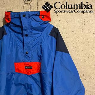 Columbia - 【90s】Columbia アノラックパーカー マウンテンパーカー グッドカラー