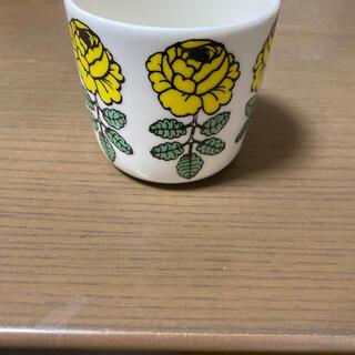 marimekko - マリメッコ ヴィヒキルース 黄色 ラテマグ